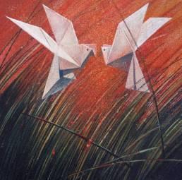 Valerie Land - Origami Birds